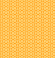 honeycomb orange and yellow seamless vector image vector image
