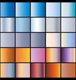 set sky gradient vector image