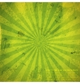 abstract green background with grunge cardboard vector image vector image