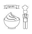 Baker Service design vector image vector image