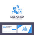 creative business card and logo template find job vector image vector image