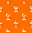 donation box pattern seamless vector image vector image