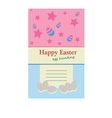 easter day card vector image vector image
