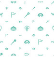 festival icons pattern seamless white background vector image vector image