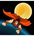 flight superhero vector image vector image