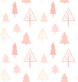 hand drawn abstract christmas decoration vector image vector image