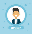 male avatar businessman profile icon element user vector image vector image