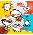 Pop art background vector image vector image