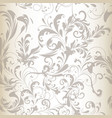 seamless pattern or background with swirls vector image vector image