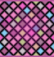 seamless pattern with blurred rhombuses vector image