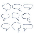 text speech bubble vector image vector image