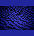 abstract dark blue fantastic background vector image vector image