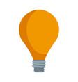 bulb light business idea creative power vector image