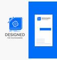 business logo for design app logo application vector image vector image