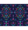 Colorful ethnic seamless pattern with geometric vector image vector image