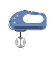 hand mixer icon in flat style isolated vector image vector image