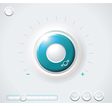 Heavy Duty Safe Dial with clipping path vector image vector image