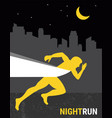 number one winner at a finish line poster design vector image vector image