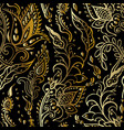 Paisley background vintage seamless pattern