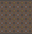 seamless geometrical patterns vintage textures vector image vector image