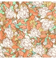 Seamless texture with flowers vector image vector image