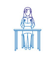 woman reading design vector image vector image