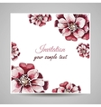 FloralCard vector image