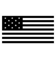 13 star united states flag 1776 vintage vector image vector image