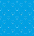 balloon pattern seamless blue vector image vector image