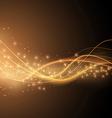 Bright solar orange swoosh speed wave modern
