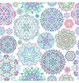 floral ornamental seamless pattern abstract vector image vector image