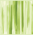 green watercolor texture background striped vector image vector image
