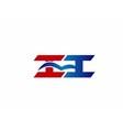 ii company logo vector image vector image