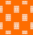 three literary books pattern seamless vector image vector image