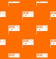 australian flag pattern seamless vector image vector image