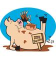 BBQ pork sauce vector image vector image
