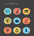 Business icons set collection of payment