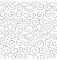 curly pattern or seamless background vector image