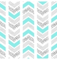 Herringbone abstract seamless pattern in memphis vector image vector image