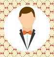 husband design vector image vector image