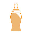 ketchup plastic bottle vector image