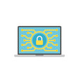 security related icon vector image vector image