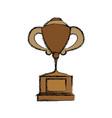 Tennis trophy cup
