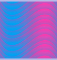 vibrant color wave seamless pattern vector image