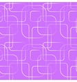 Abstract geometric line and square seamless vector image vector image