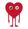 amazed emoticon emoji vector image