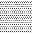 black polka dot grunge seamless pattern vector image vector image