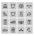 Clothes Icon vector image vector image