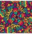 Ethnic patternsgeometric picture Authentic Boho vector image