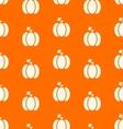 halloween pumpkins seamless pattern watercolor vector image